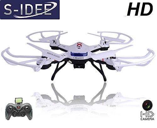 s-idee 01502 Quadrocopter S181C HD KAMERA 4.5 Kanal 2.4 Ghz Drohne mit Gyroscope Technik - 1