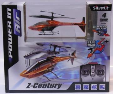 Silverlit 85962 - Z-Century 4-Kanal Helikopter Infrarot mit Kreisel (farblich sortiert, Vorauswahl nicht möglich) - 5