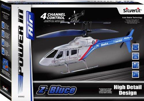 Silverlit 85993 - 4 Kanal Infrarot Helicopter mit Gyro Z-Bruce - 5