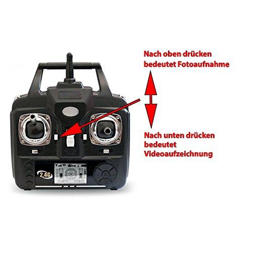 X5SC-1 Explorers 2 Pro HD, RC ferngesteuerte 4.5 Kanal Kamera-Quadcopter mit 2x Akku, Ersatzteile - 5